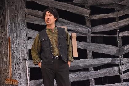 【舞台動画あり】三谷幸喜の新作舞台『大地(Social Distancing Version)』が開幕へ! 初日前のフォトコールをレポート