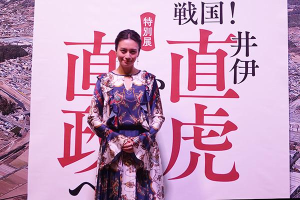 2017年NHK大河ドラマ「おんな城主 直虎」で直虎を演じる柴咲コウ