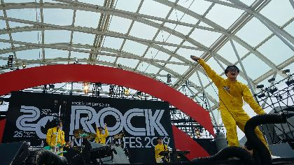 POLYSICS、『ROCK IN JAPAN FES.』ステージでサプライズ新曲配信スタート&2年ぶりの新アルバムリリースを発表