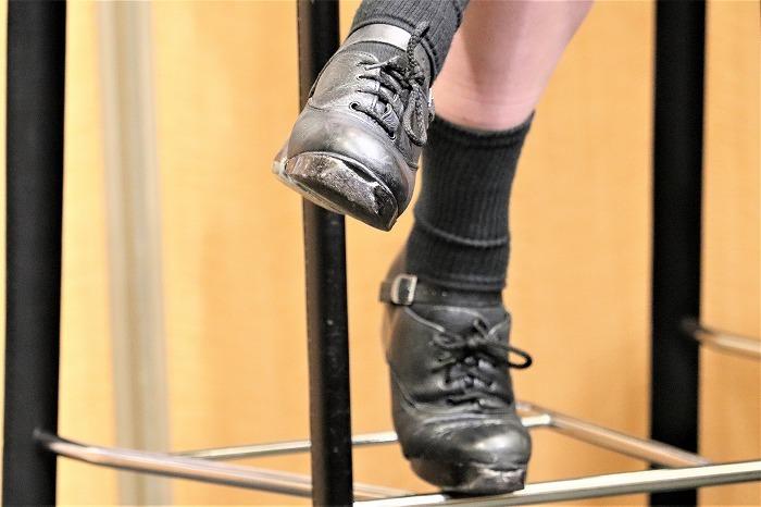 これがマリッサの靴。履き込んでますね!
