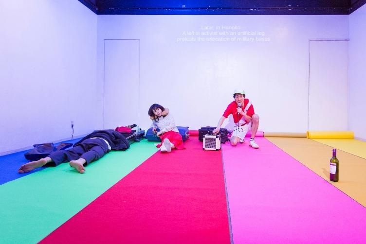 岡崎藝術座『+51 アビアシオン,サンボルハ』 2015  Photo by Yuta Fukitsuka