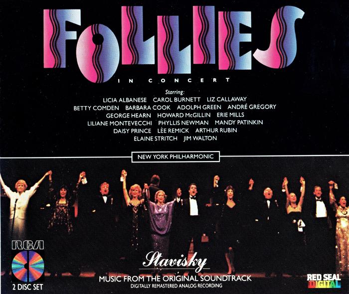 リンカーン・センターでの「フォリーズ・イン・コンサート」(1985年)
