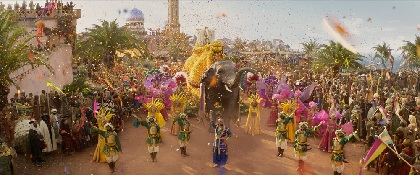山寺宏一 in ウィル・スミスが歌い踊る! 実写映画『アラジン』豪華絢爛パレードシーンを公開