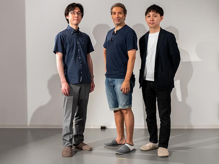 左より 増田達斗、イスラエル・ガルバン、片山柊 (C)Naoshi Hatori