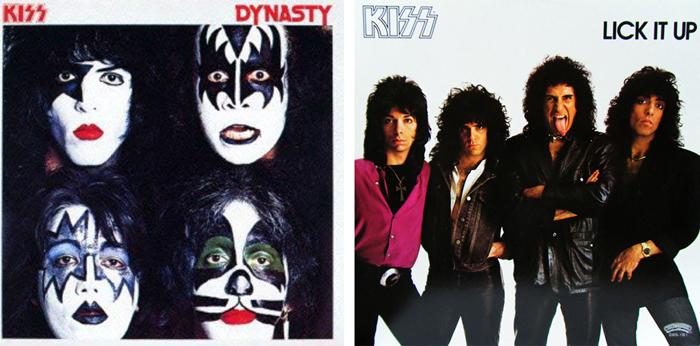 KISS『地獄からの脱出』(1979年)、『地獄の回想』(1983年)