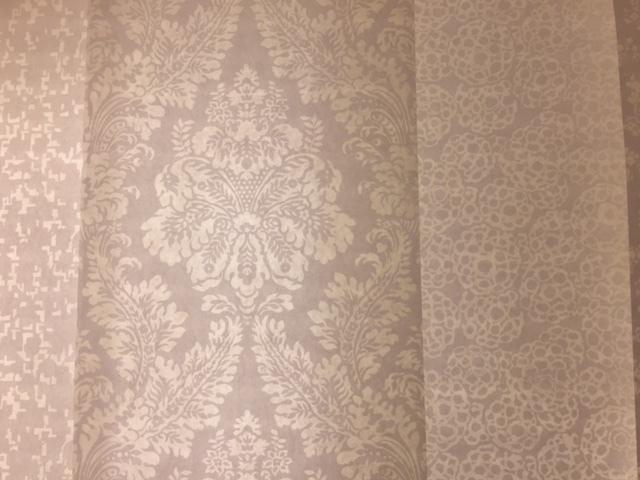 フランソワ=グザヴィエ・リシャール氏による和紙素材を使用して制作された壁紙