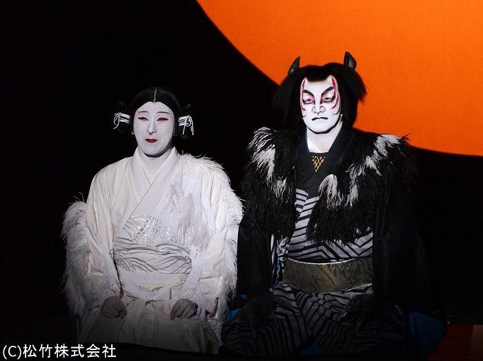 新作歌舞伎『あらしのよるに』