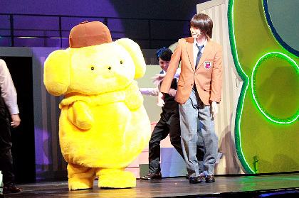 サンリオ男子が夢と笑いをお届けする、ミラクル☆ステージ『サンリオ男子』 ハローキティも舞台に登場するキラキラのゲネプロレポート