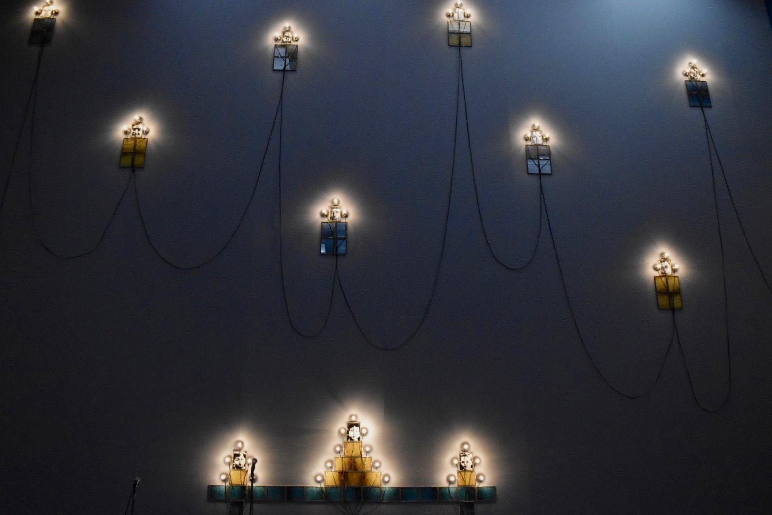 「クリスチャン・ボルタンスキー −Lifetime」展 2019年 国立新美術館展示風景