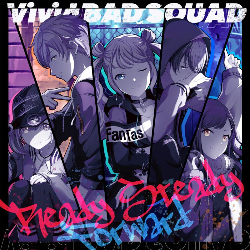 VividBADSQUAD 1stSingle「Ready Steady/Forward」 (C) SEGA / (C) Colorful Palette Inc. / (C) Crypton Future Media, INC.www.piapro.netAll rights reserved.