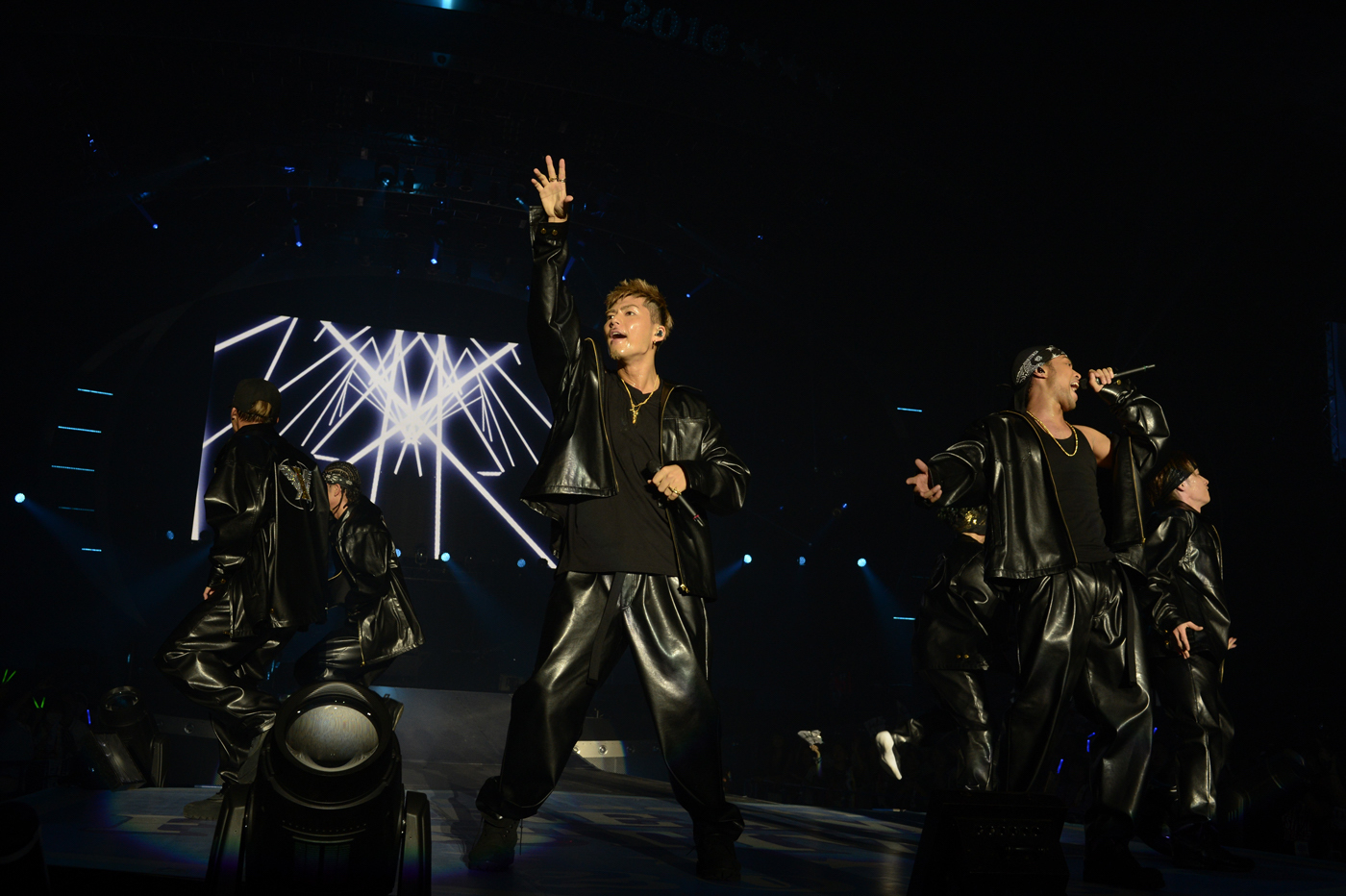 EXILE THE SECOND 撮影=岸田哲平