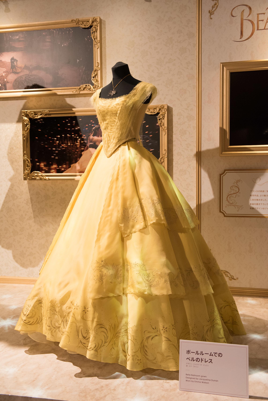 『美女と野獣(2017 年)』 ボールルームでのベルのドレス (C)Disney