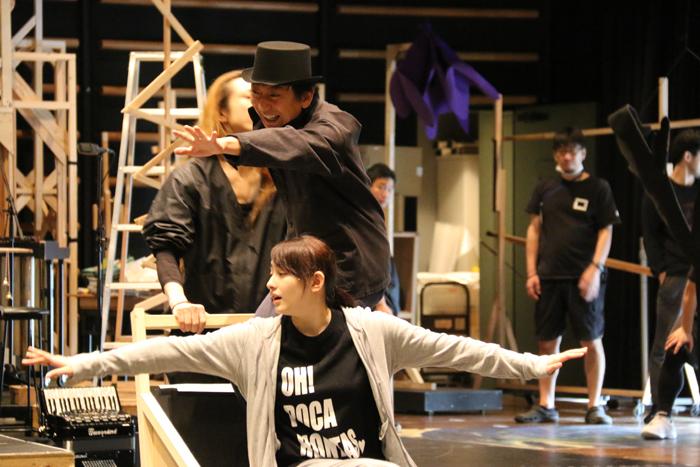 早見あかり、山崎一/KAAT神奈川芸術劇場プロデュース「夢の劇 -ドリーム・プレイ-」