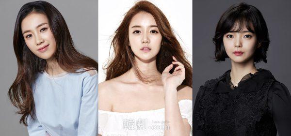 (写真左から)ナヨン役のパク・ジヨン、シン・ゴウン、ナ・ハナ