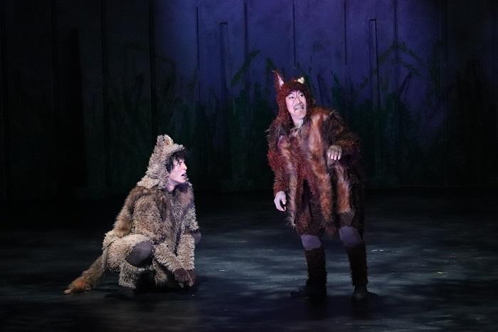 音楽劇『あらしのよるに』ゲネプロ