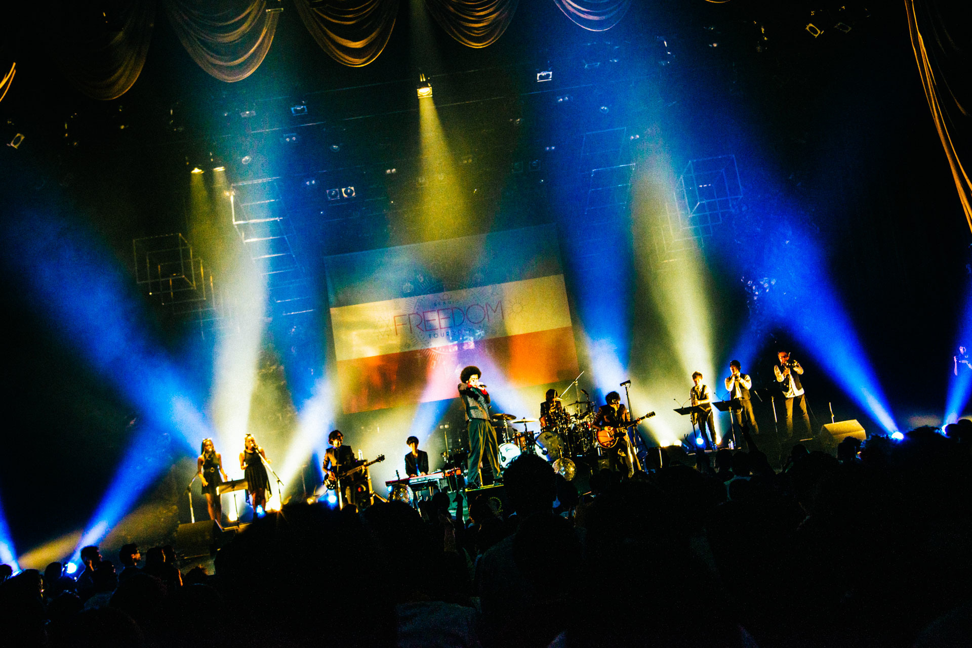 BRADIO『FREEDOM tour 2017』ファイナル公演 撮影=木場ヨシヒト