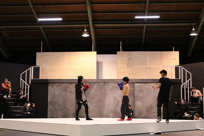 リアルファイティング「はじめの一歩」The Glorious Stage!!稽古場より