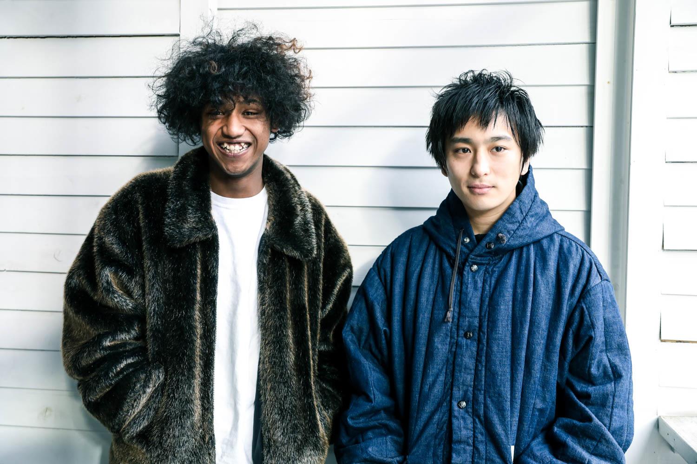 ヤングオオハラ・ハローユキトモ / 2・古舘佑太郎  撮影=風間大洋