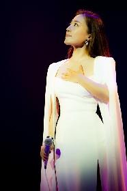 平原綾香がほぼMCなしで歌い続ける 約7カ月ぶりのソロ公演をBunkamuraオーチャードホールで開催