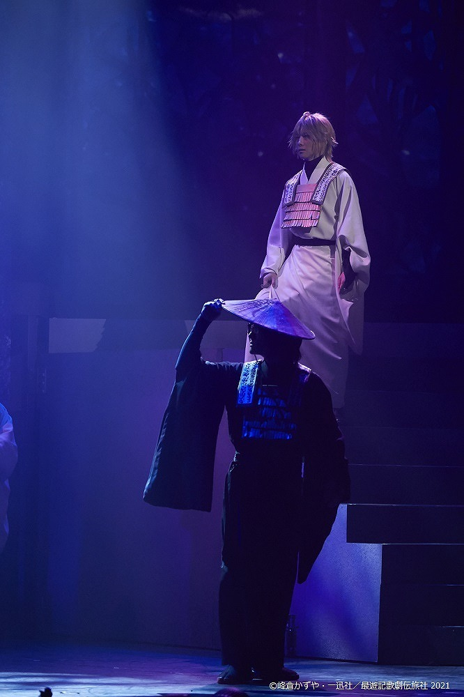 『最遊記歌劇伝-Sunrise-』大阪公演ゲネプロより (C)峰倉かずや・一迅社/最遊記歌劇伝旅社 2021