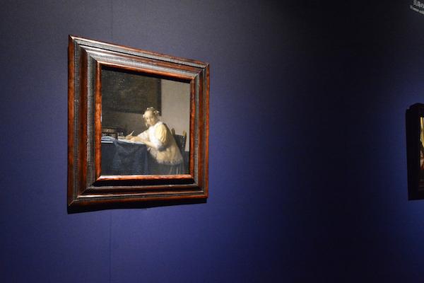 ヨハネス・フェルメール《手紙を書く女》1665年頃 ワシントン・ナショナル・ギャラリー