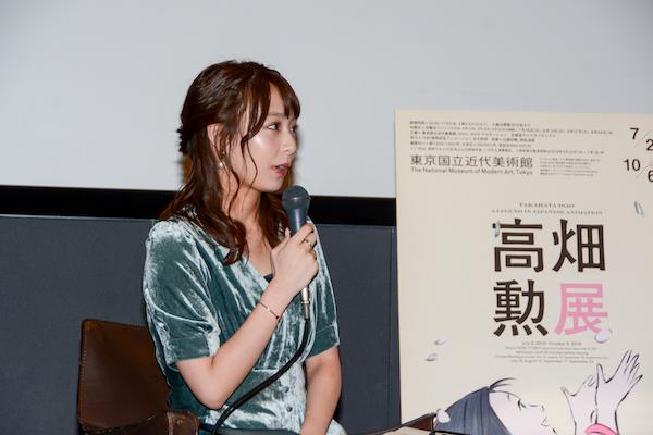 お気に入りの高畑作品は『かぐや姫の物語』と語った宇垣美里