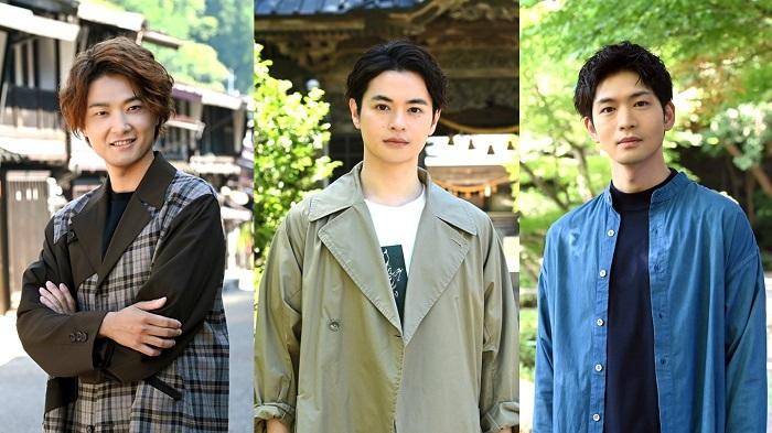 (左から)井上芳雄、瀬戸康史、松下洸平