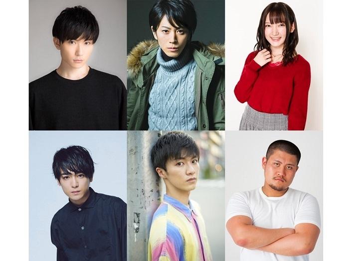 (上段左から)日向野祥、廣瀬智紀、西本りみ(下段左から)小早川俊輔、平松來馬、関本柊