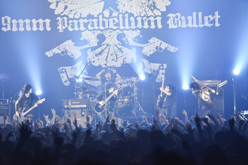 9mm Parabellum Bullet 撮影=橋本 塁 (SOUND SHOOTER)