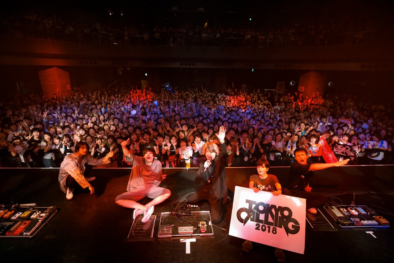 TOKYO CALLING 2018  撮影=タマイシンゴ
