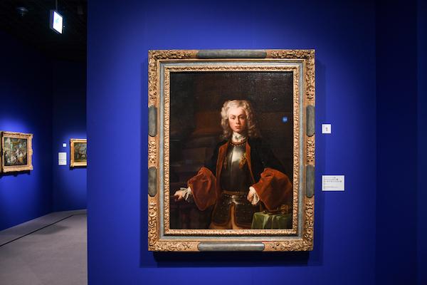 フランチェスコ・ソリメーナに帰属《リヒテンシュタイン侯ヨーゼフ・ヴェンツェル1世》 1725年、油彩・キャンヴァス 所蔵:リヒテンシュタイン 侯爵家コレクション、ファドゥーツ/ウィーン (C) LIECHTENSTEIN. The Princely Collections, Vaduz-Vienna