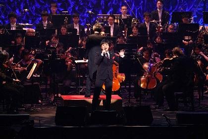 森山直太朗が『オリンピックコンサート2018』にゲスト出演! 初のオーケストラをバックに新曲「人間の森」を披露