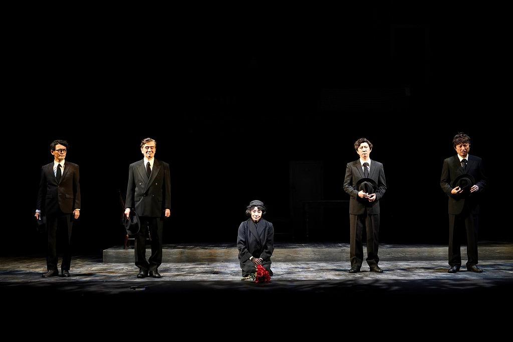 (左から)加藤啓、大谷亮介、片平なぎさ、菅原永二、山内圭哉  撮影:細野晋司