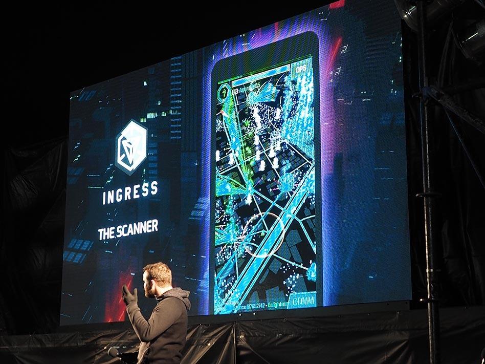 Ingressの続編タイトルであるIngress PRIMEの画面写真も公開された
