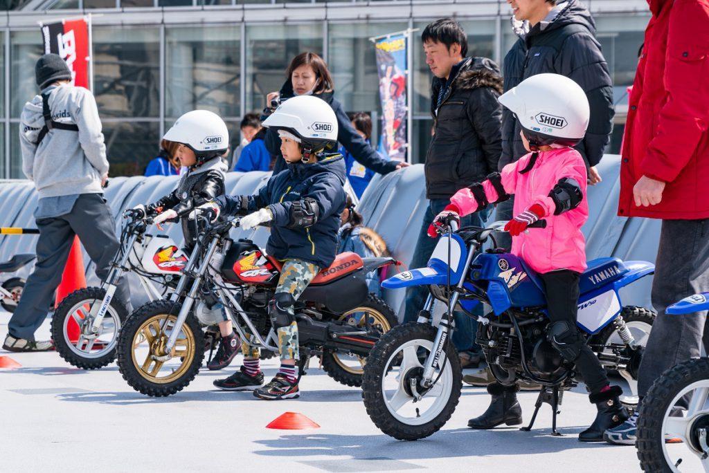 親子でバイクを体験できる「MFJ親子バイク祭り」