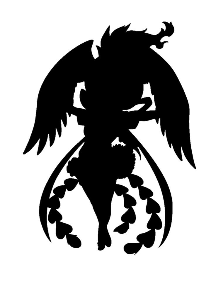 吉崎観音版火の鳥のシルエット (c)Tezuka Productions/(c)Kemono Friends Project A illustrated by YOSHIZAKI Mine