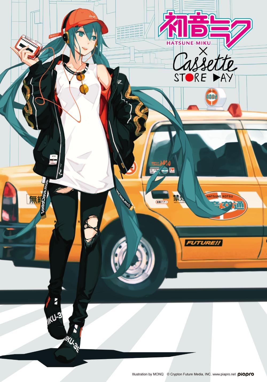 初音ミク×『CASSETTE STORE DAY 2017』