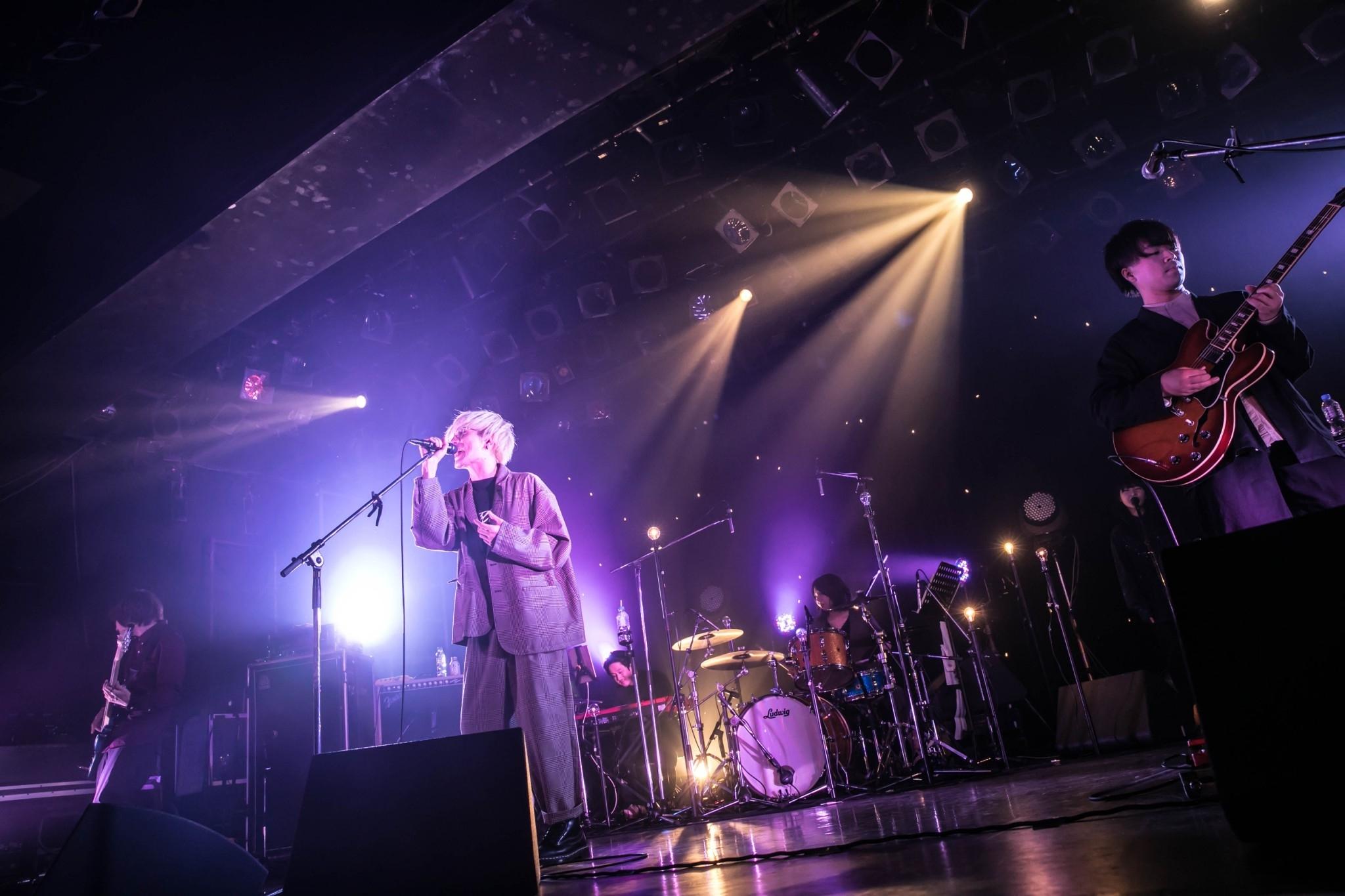 『the quiet room Concept Oneman Live 2020 - グレイトエスケイプ -』ライブ写真  撮影=中山優司