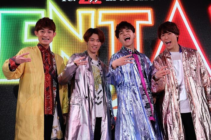 (左から)松崎祐介、辰巳雄大、福田悠太、越岡裕貴