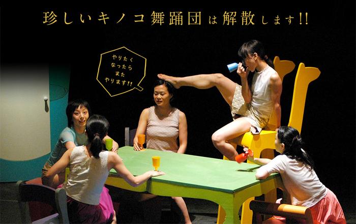 「珍しいキノコ舞踊団」公式サイトより引用