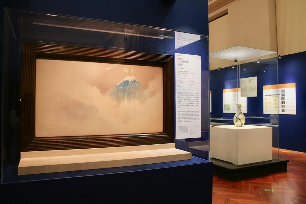 続く第2会場は、文化財の保存事業を紹介するパネルなども展示されている