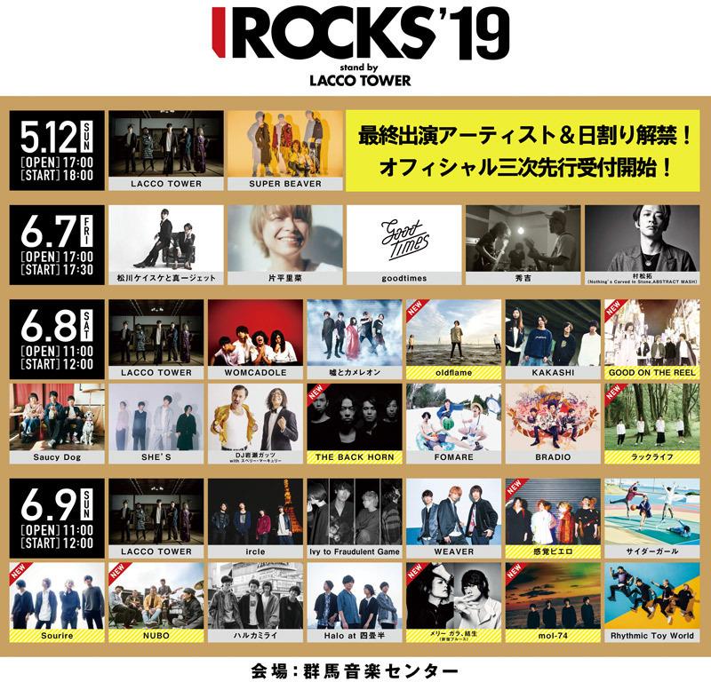I ROCKS 2019