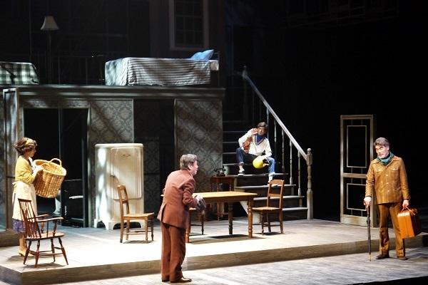 「セールスマンの死」公開舞台稽古写真