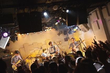 """ウソツキのマンスリー企画1本目  全曲ラブソングで挑んだ""""初ワンマンの地""""下北沢MOSAiC"""