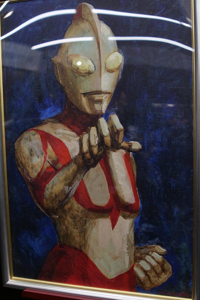 「真実と正義と美の化身」複製絵画 写真:ウメダカツジ