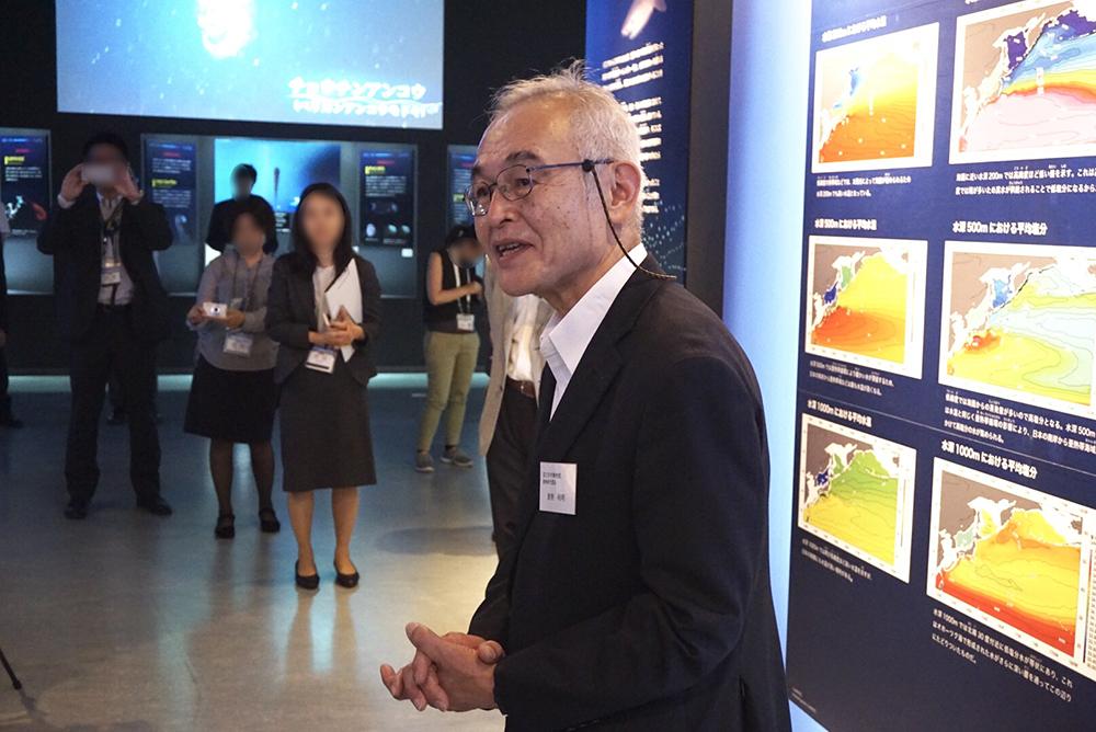 本展監修・国立科学博物館 動物研究部長 倉持利明氏