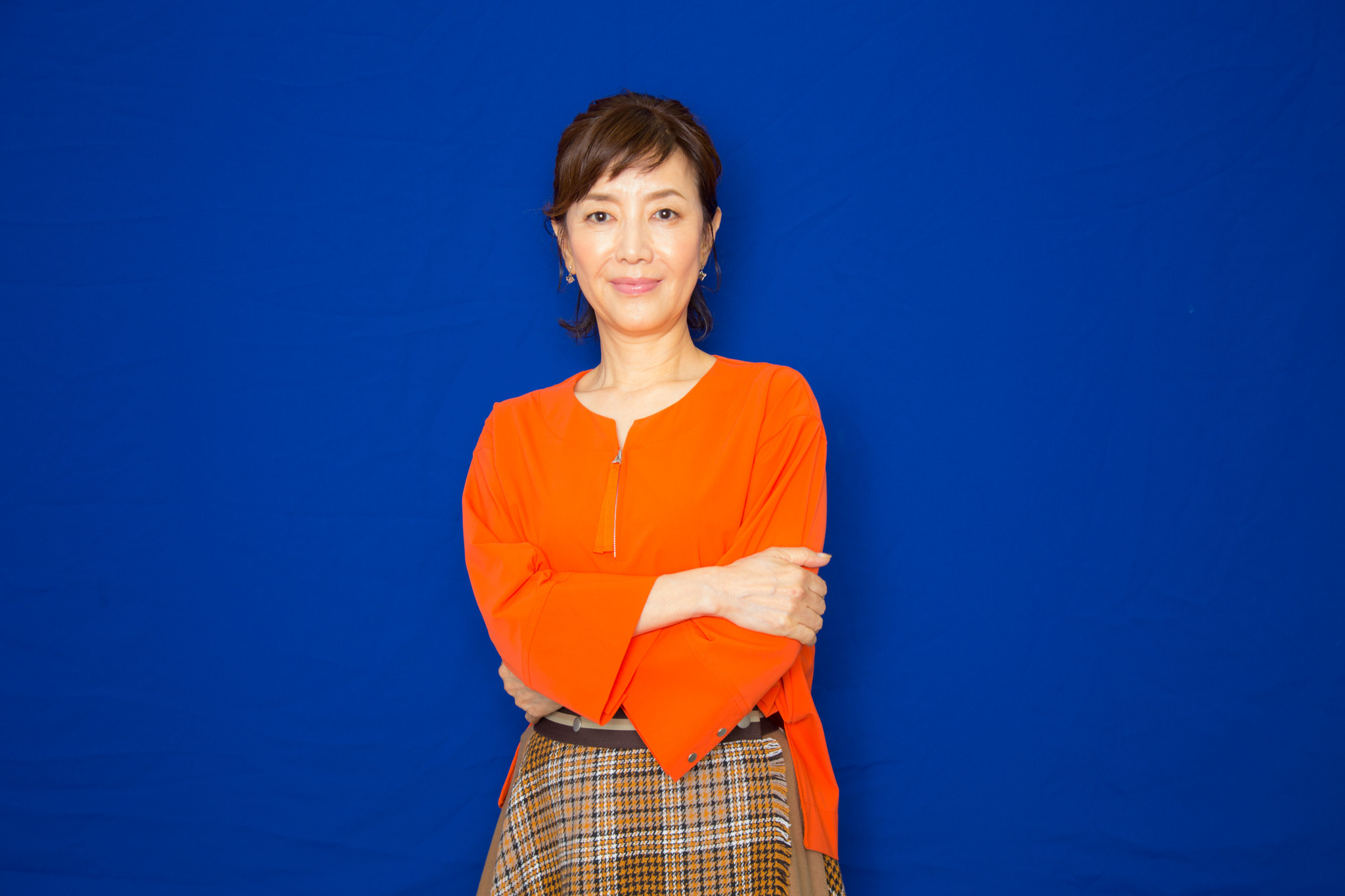 戸田恵子 撮影=田浦ボン
