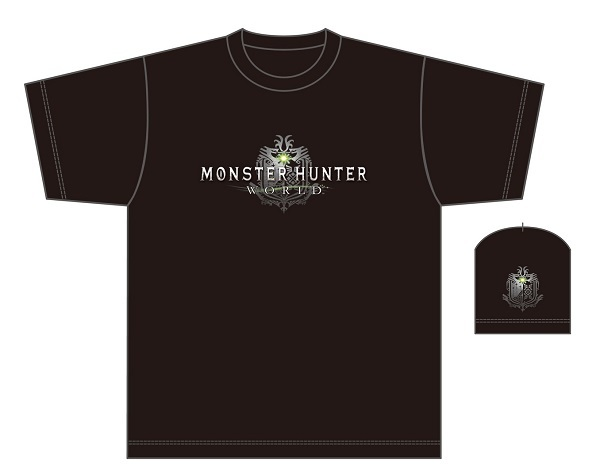 MONSTER HUNTER: WORLD(モンスターハンターワールド)/公開生放送プレゼントTシャツ ©CAPCOM CO., LTD. ALL RIGHTS RESERVED.