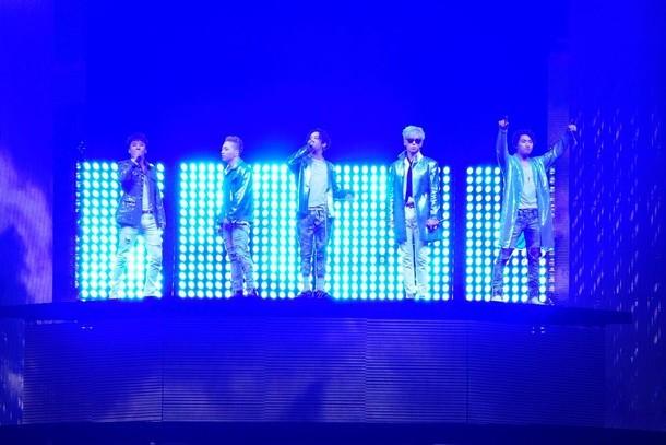 BIGBANG「BIGBANG10 THE CONCERT : 0.TO.10 -THE FINAL-」東京ドーム公演の様子。