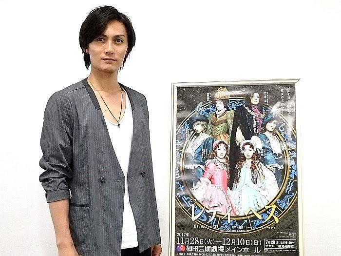 ミュージカル『レディ・ベス』合同取材会にて(撮影/石橋法子)